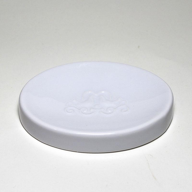 Seifenablage weiß