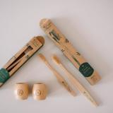 Zahnbürstenhalter Bambusholz