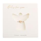 Armband - Only for You - Schutzengel - rosévergoldet