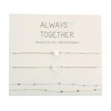 Armband - Always together - feinversilbert