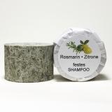 Festes Shampoo Rosmarin-Zitrone